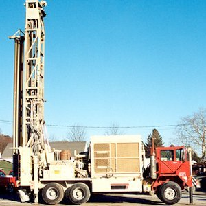 Water Pumps - Weaverville, NC - Clearwater Well Drilling, Inc. - well drilling truck