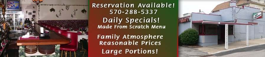 Homemade Italian Dishes - Luzerne, PA  - Andy Perugino's