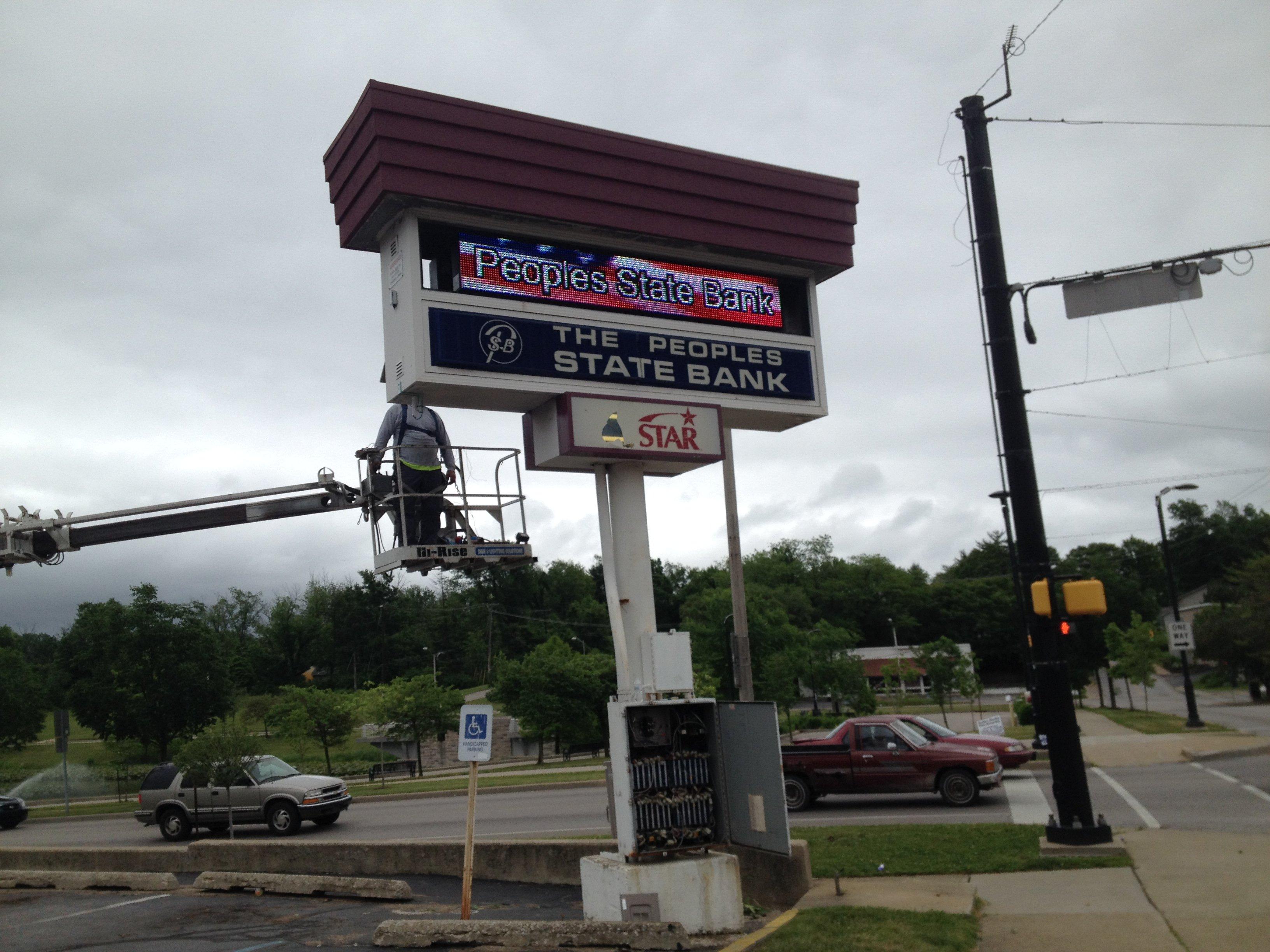 Sign board service