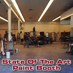 auto body shops - Quarryville,PA - Crouse's Body Shop - State Of The Art Paint Booth