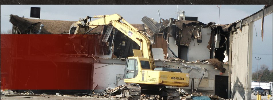 Demolition Project Photos | Altoona, IA | Iowa Demolition | 515-729-9268