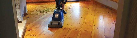 Wood Floor Maintenance Services