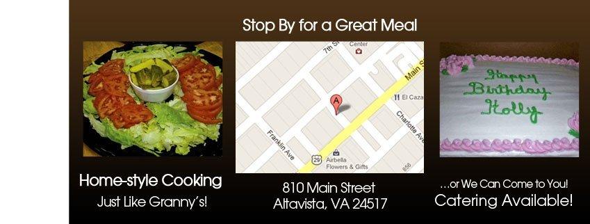 Home-Style Cooking - Altavista, VA  - Granny P's