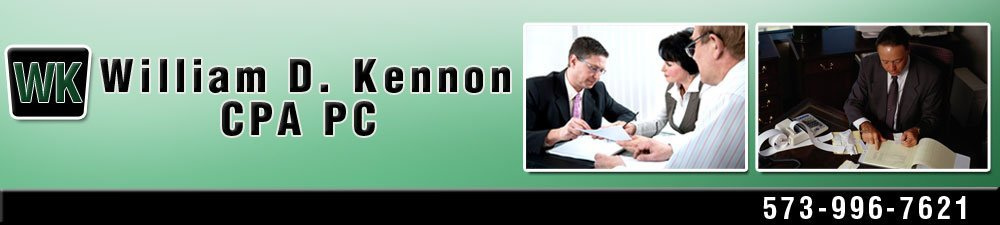 Certified Accountant Doniphan, MO - William D. Kennon CPA PC