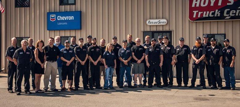 Hoyt's Truck Center Staff