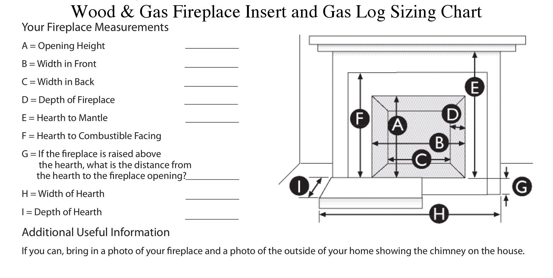 Gas Inserts