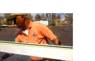 John's Gutter Cleaning employee
