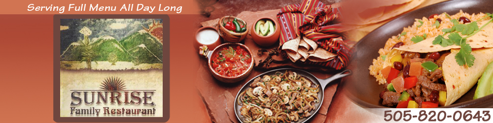 Restaurant - Santa Fe, NM - Sunrise Family Restaurant