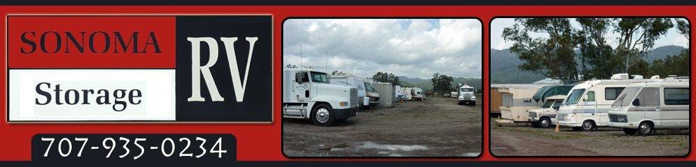 RV Storage Facility - Sonoma, CA - Best Self Storage