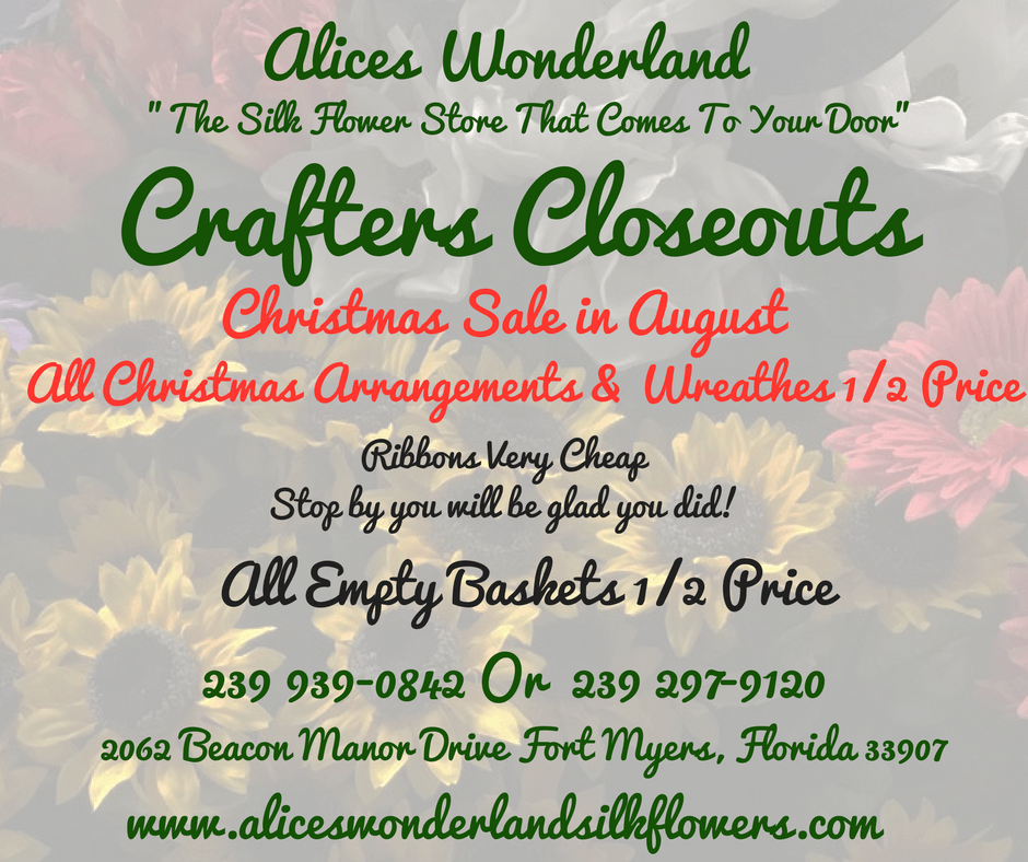 Alices wonderland silk floral designs fort myers fl mightylinksfo