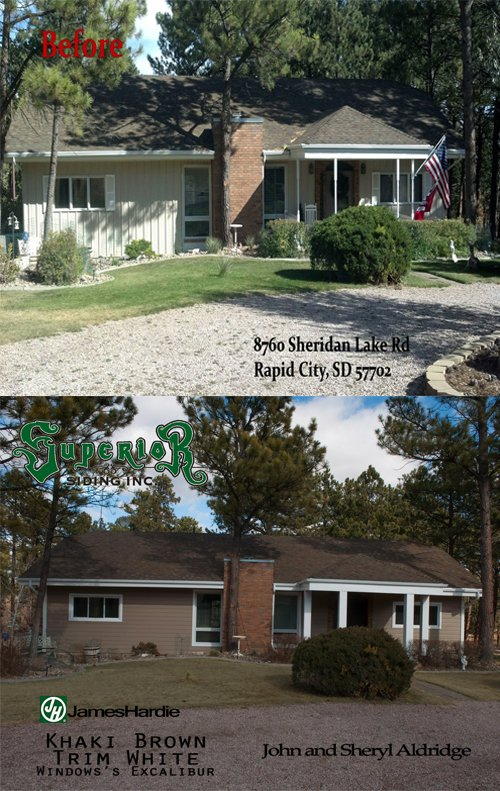 Superior Siding Inc Before And After Gallery Rapid City Sd