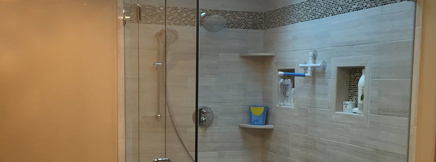 Charming Quality Shower Door Installation