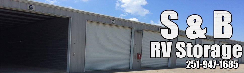 Storage Services - Robertsdale and Baldwin County, AL - S & B RV Storage