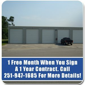 Storage Units - Robertsdale and Baldwin County AL - S u0026 B RV Storage - & Storage Services Robertsdale AL - S u0026 B RV Storage