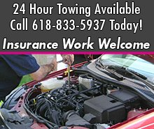 Auto Repair - Jonesboro,  IL - Rod's Towing