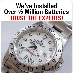 Replacement Watch Band - Warren, MI - Eastside Watchband - Metal Watch Band - We've Installed Over ½ Million Batteries Trust The Experts!