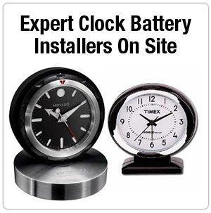 Clock Repairs - Warren, MI - Eastside Watchband - Clock - Expert Clock Battery Installers On Site