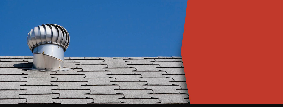 Commercial roof made out of shingles