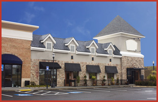 A commercial establishment with fine roofing