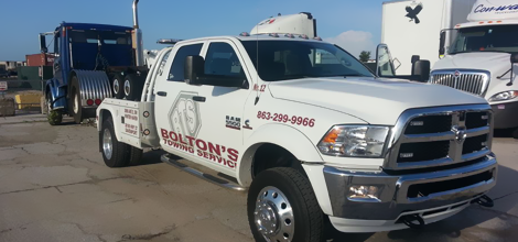 Winch outs   Winter Haven, FL   Bolton's Towing Service   863-299-9966