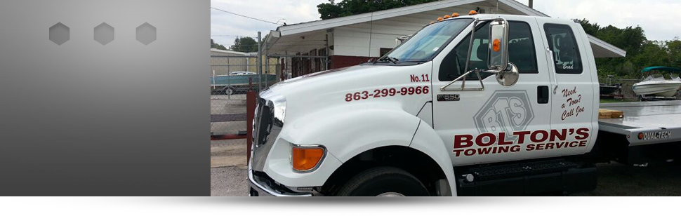 Towing   Winter Haven, FL   Bolton's Towing Service   863-299-9966