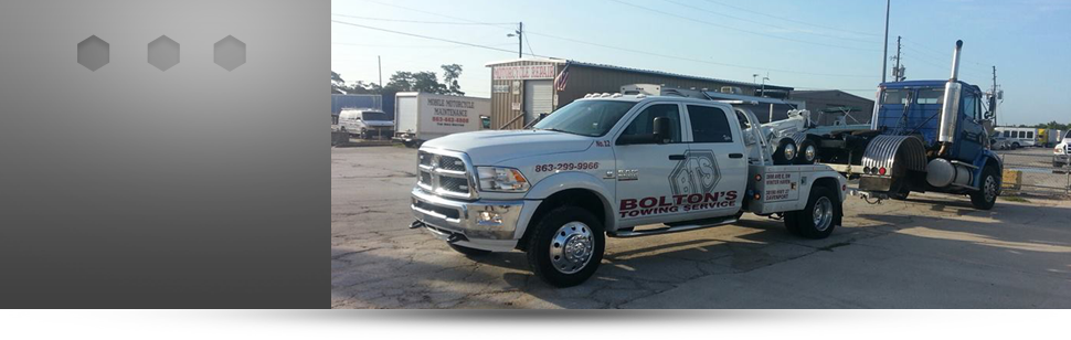 Roadside assistance | Winter Haven, FL | Bolton's Towing Service | 863-299-9966