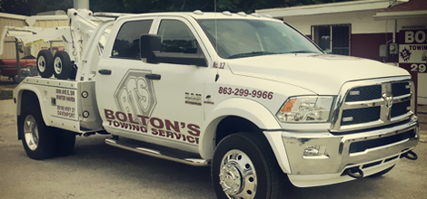 Towing | Winter Haven, FL | Bolton's Towing Service | 863-299-9966