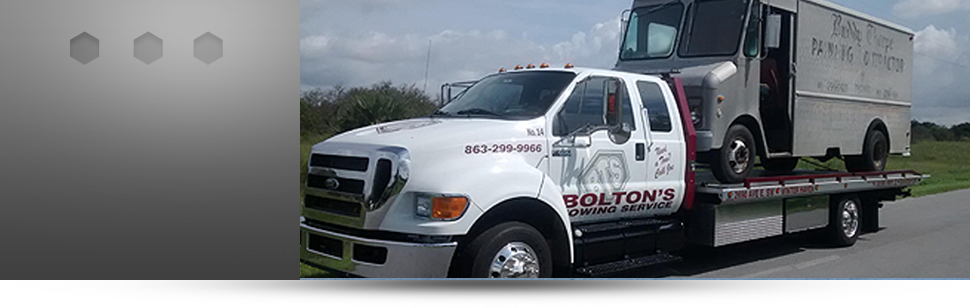 Medium towing | Winter Haven, FL | Bolton's Towing Service | 863-299-9966