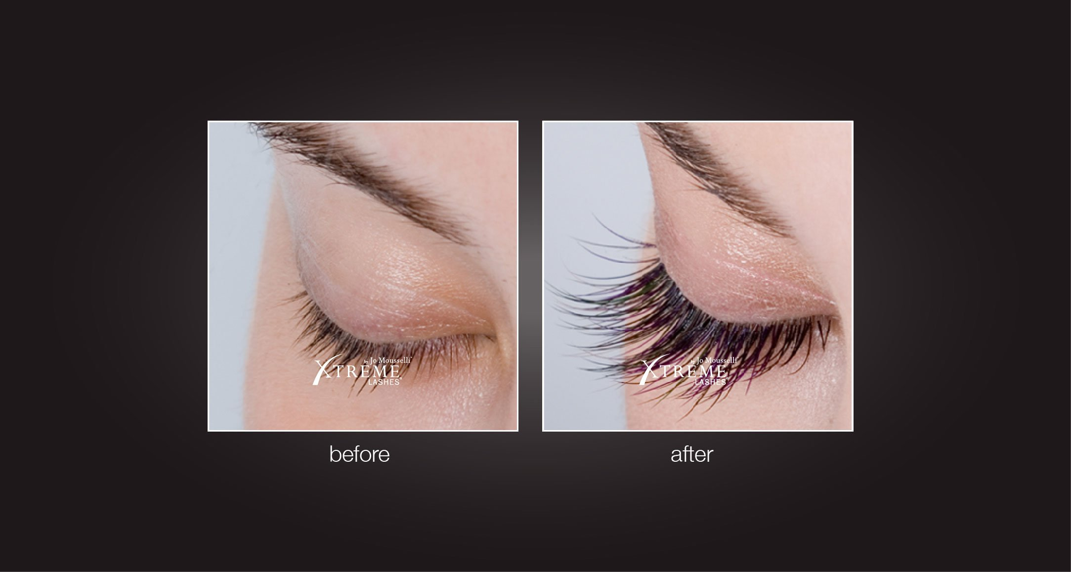 Before and After Eyelash