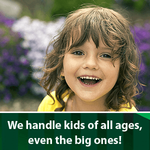 Preventive Dentistry - Phoenix, NY - Gentle Dental Care - We handle kids of all ages, even the big ones!