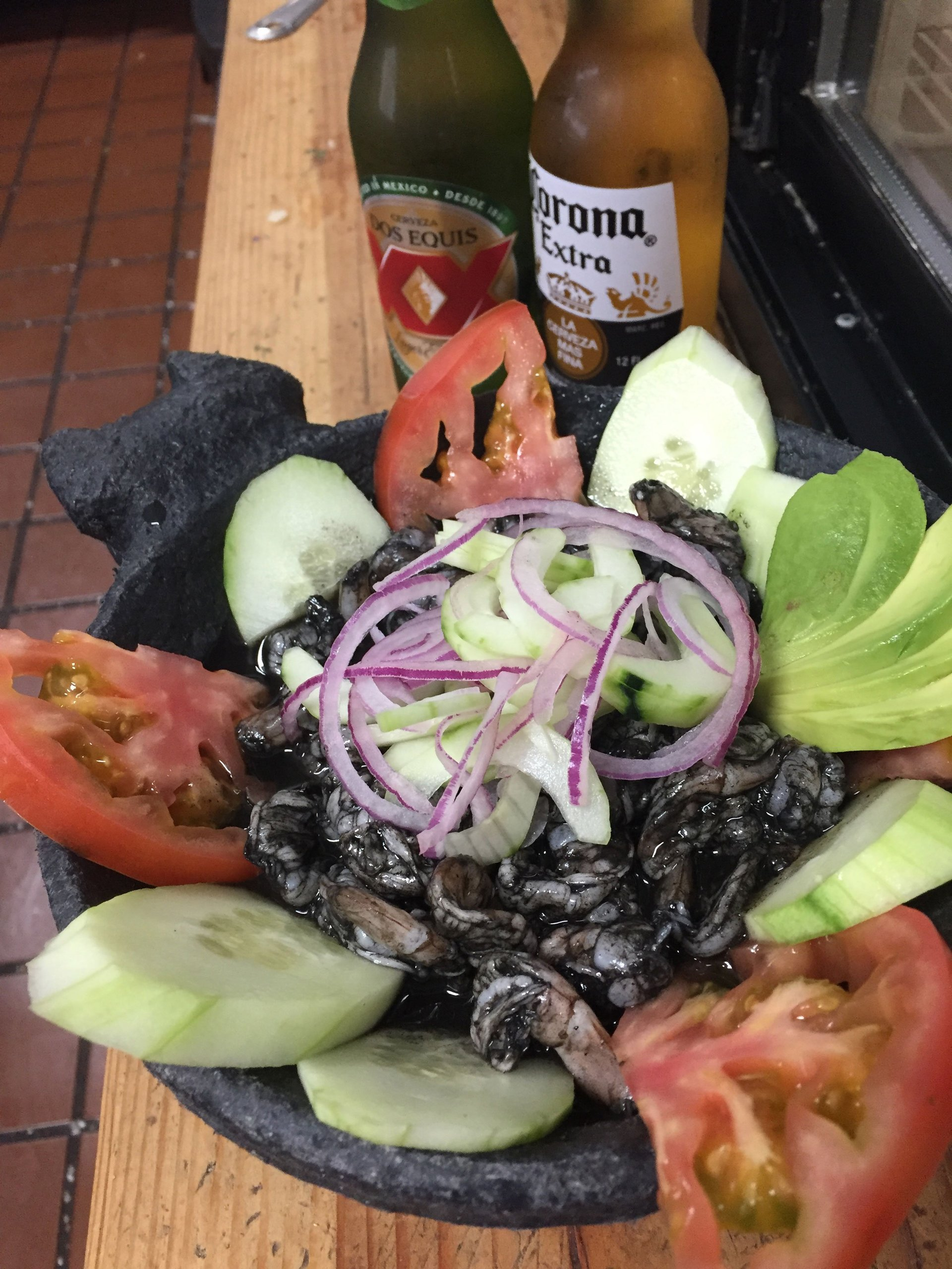 Mexican Seafood Dish
