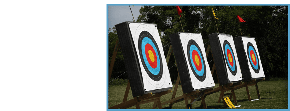 Shooting range for archery practice