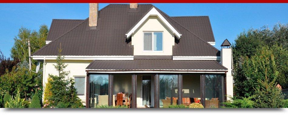 Beautiful house roof
