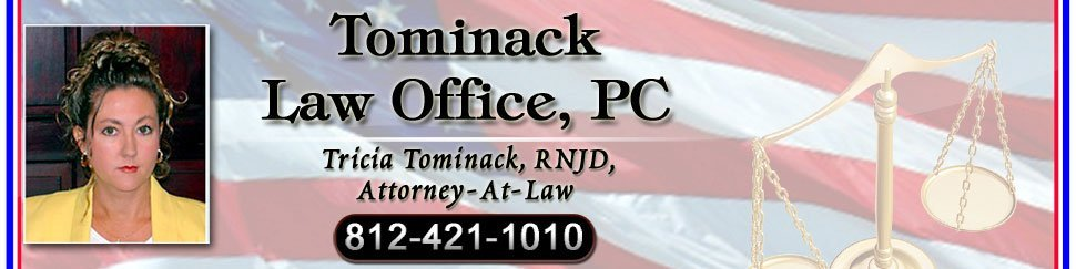 legal counsel | Evansville, IN | Tricia Tominack Attorney-At-Law | 812-421-1010