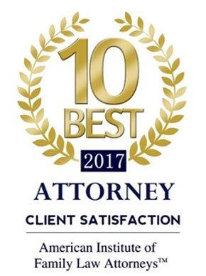 2017 Best Attorney client Satisfaction