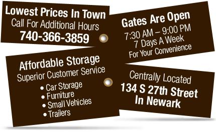 Self Storage | Personal Storage - Newark, OH - Budget Mini Storage