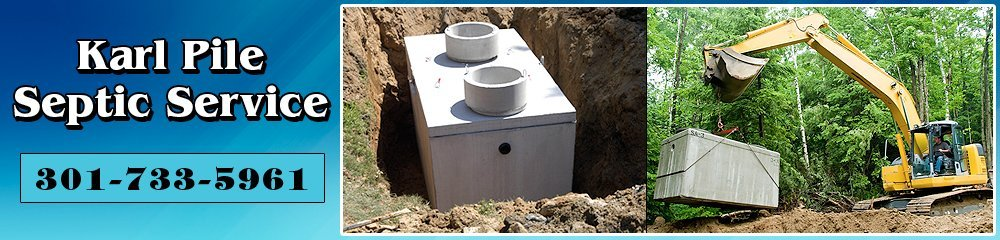 Septic Equipment - Hagerstown, MD - Karl Pile Septic Service