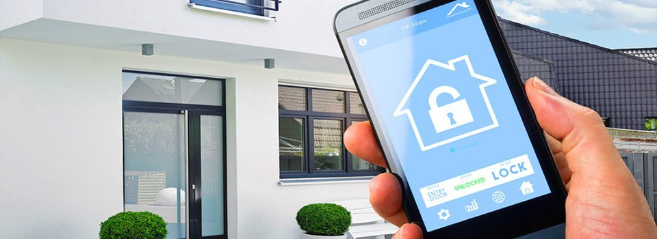 Smartphone-controlled home automation system