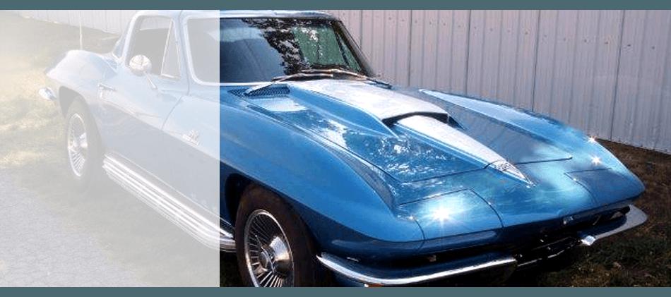 Complete classic car restoration