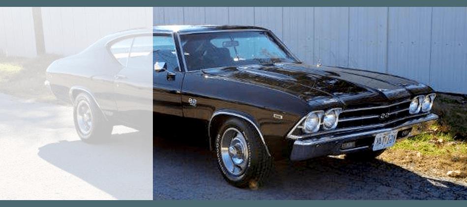 Detailed frame restorations