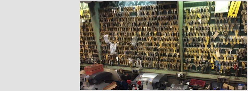 Boston lock and key