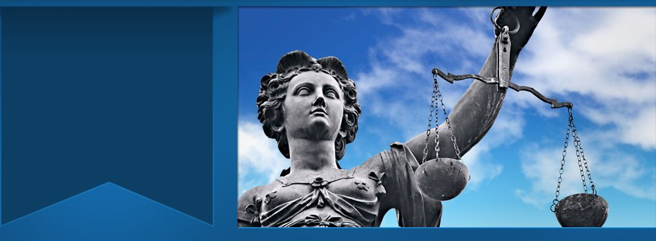 A statue representing justice