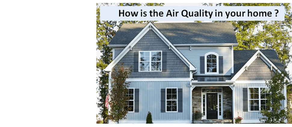 Air quality in homes