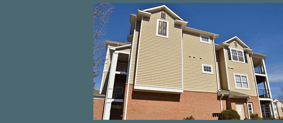A three storey house