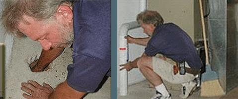 Radon Mitigation installation