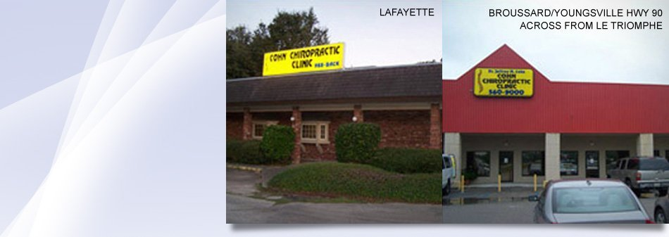 Chiropractic services | Lafayette, LA | Cohn Chiropractic Clinic  | 337-988-2225