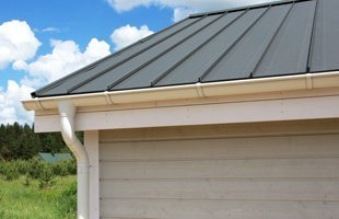 Commercial establishment with a nice roofing
