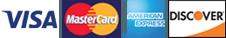 Visa | MasterCard | American Express | Discover