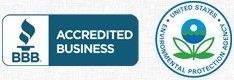 Better Business Bureau, EPA Certified