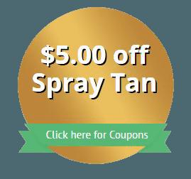 $5.00 off Spray Tan